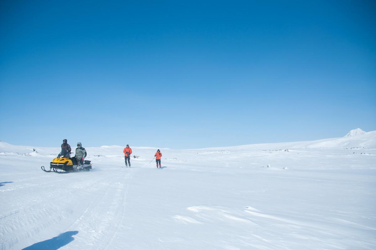 Покатушки на снегоходах