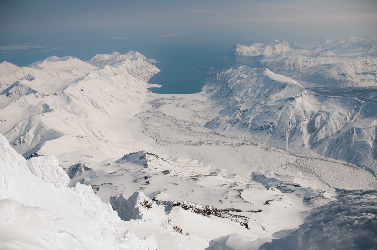 Виды с вершины Вилючинского